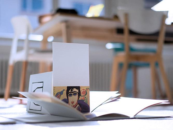 Letterpress Visitenkarten von ideenhaft